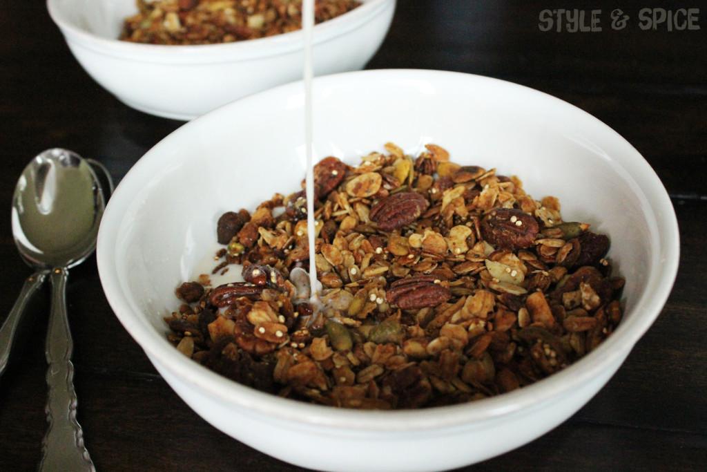 Nutty Granola | Style & Spice