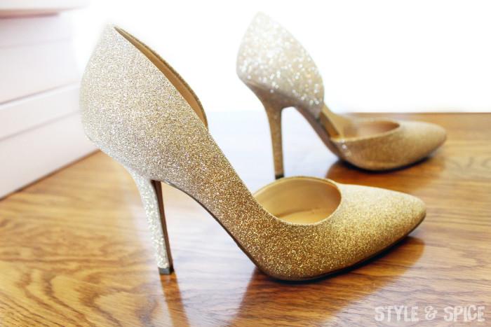 Gold BCBGeneration Heels