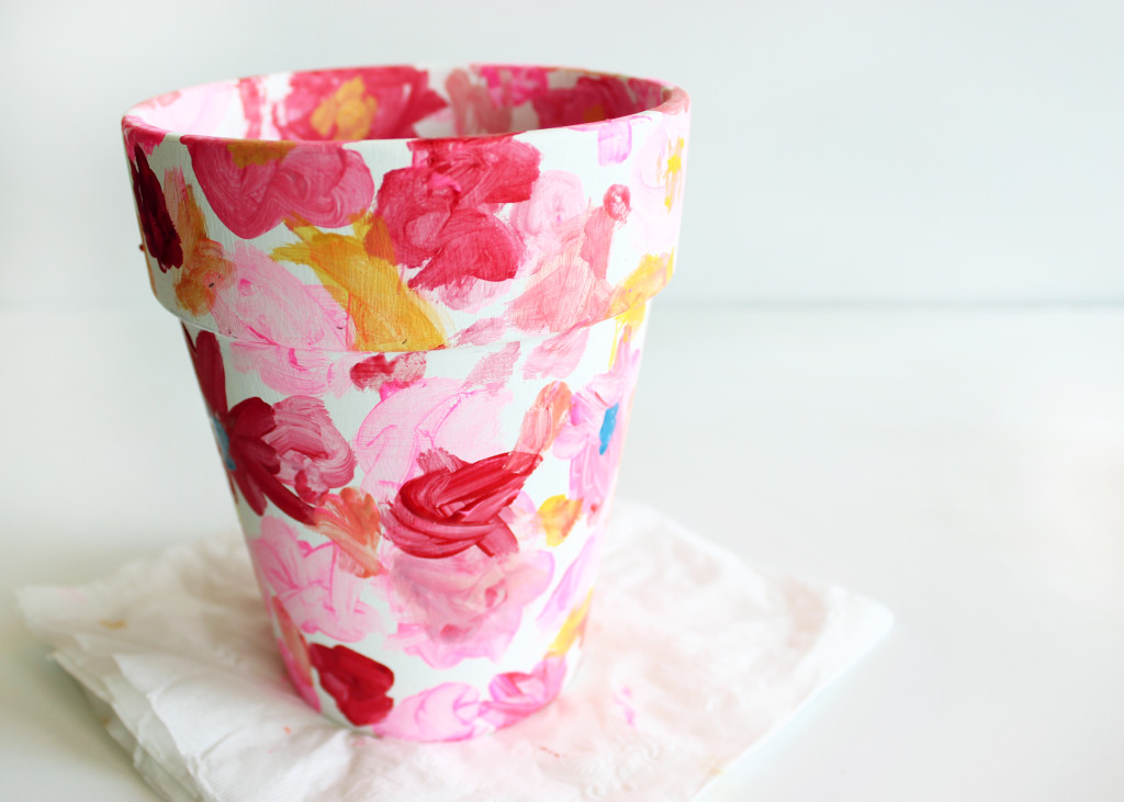 Hand-Painted Planter | Style & Spice