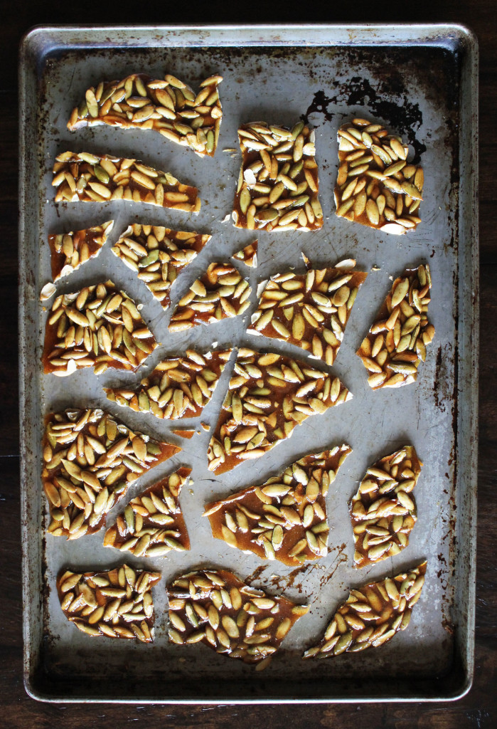 Pumpkin Seed Brittle   Style & Spice