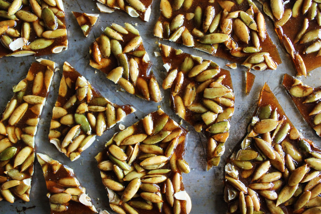 Pumpkin Seed Brittle | Style & Spice