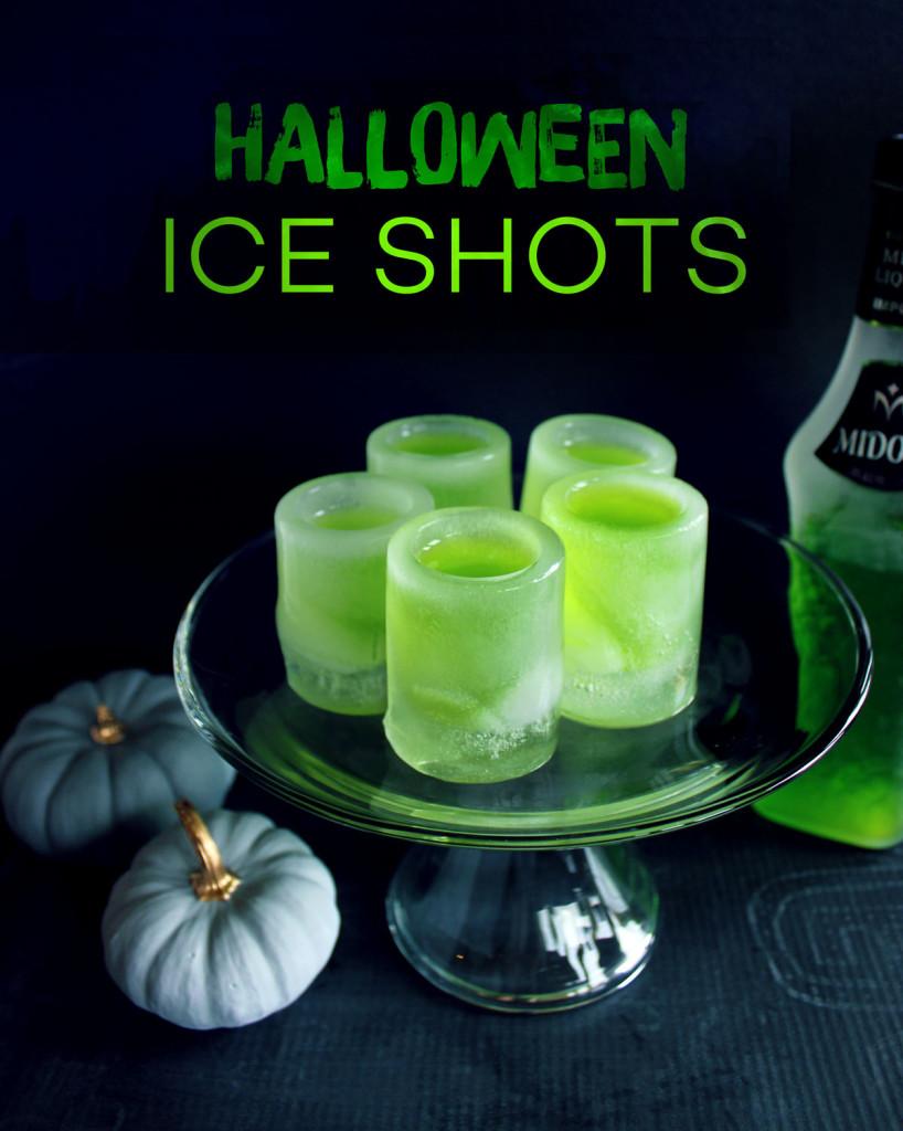 Halloween Ice Shots | Style & Spice