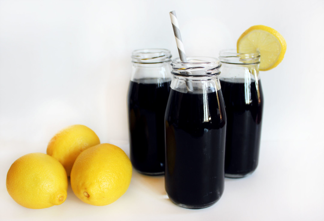 Activated Charcoal Lemonade | Style & Spice