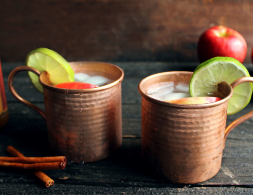 Apple Cider Moscow Mules | Style & Spice